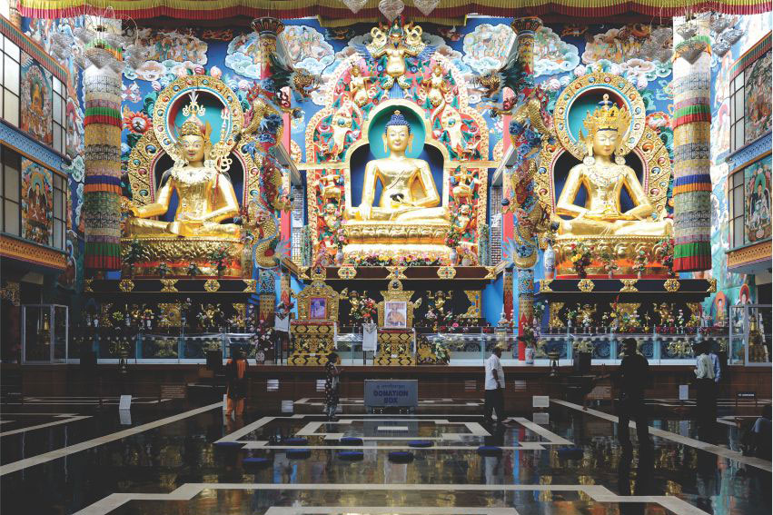 Golden Temple, Bayalukuppe, Mysuru, Coorg