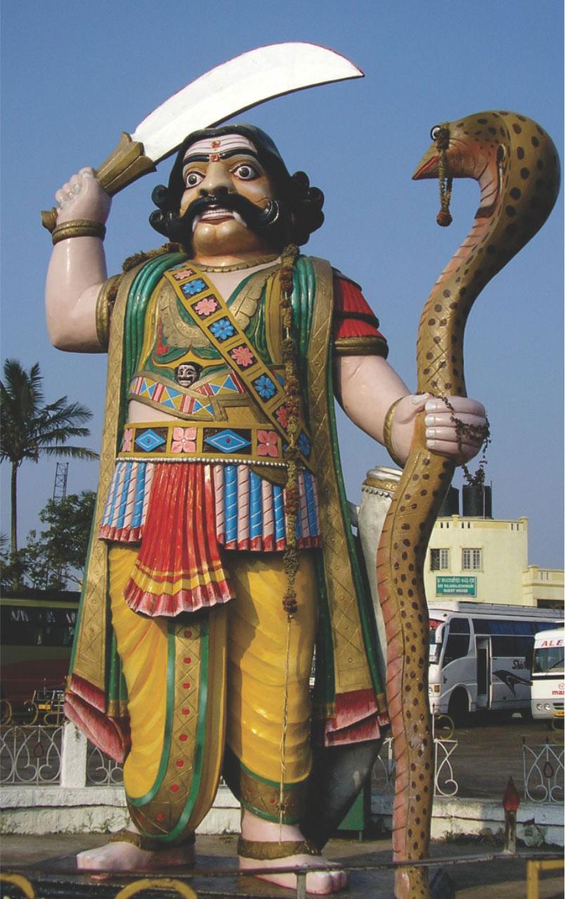 Mahishasura statue, Chamundi Hill, Mysore, Mysuru