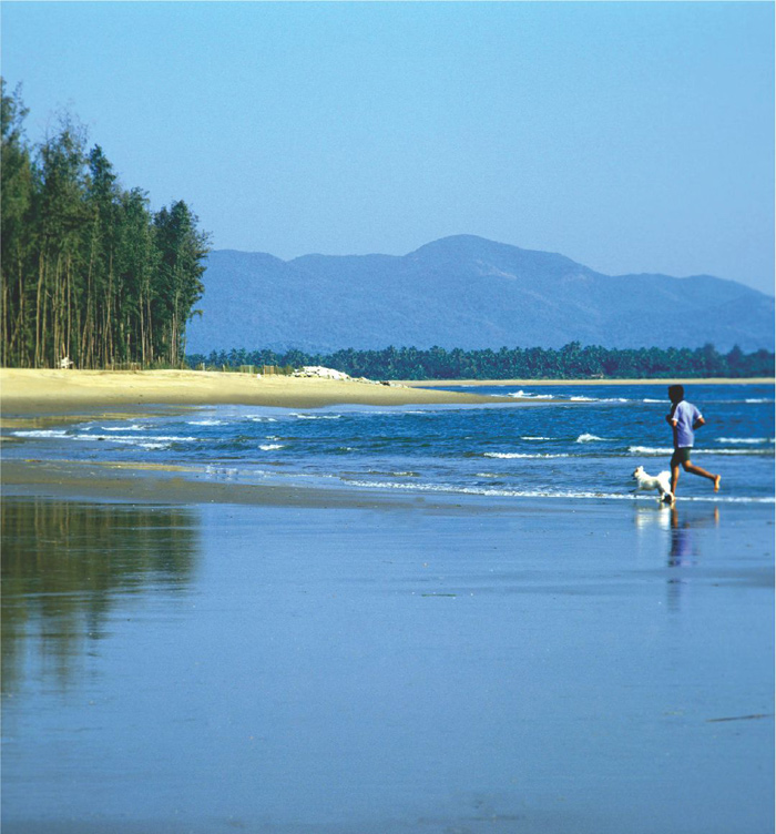 Devbagh Beach Resort, Karwar