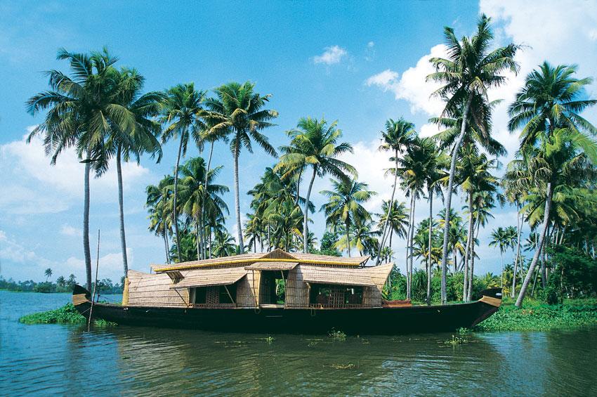 House boat, Back Water, Cochin, Kerala