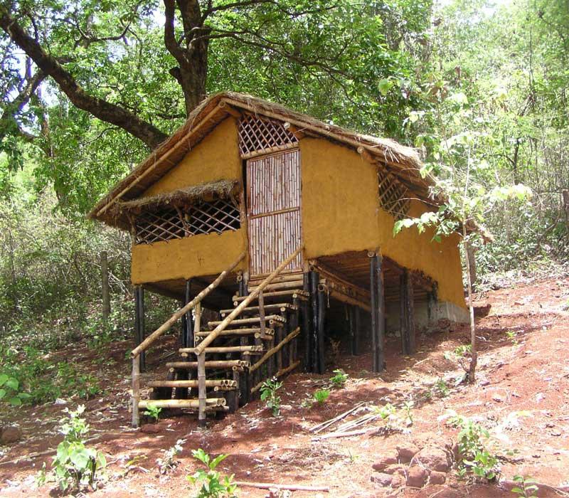 Ethnic Cottage Old Magazine House
