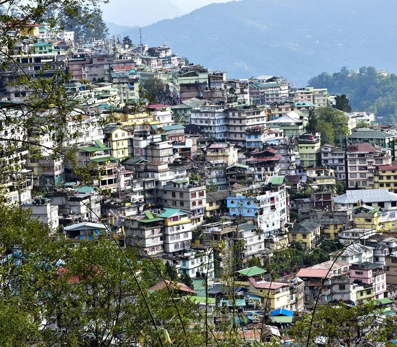 Gangtok Landscape