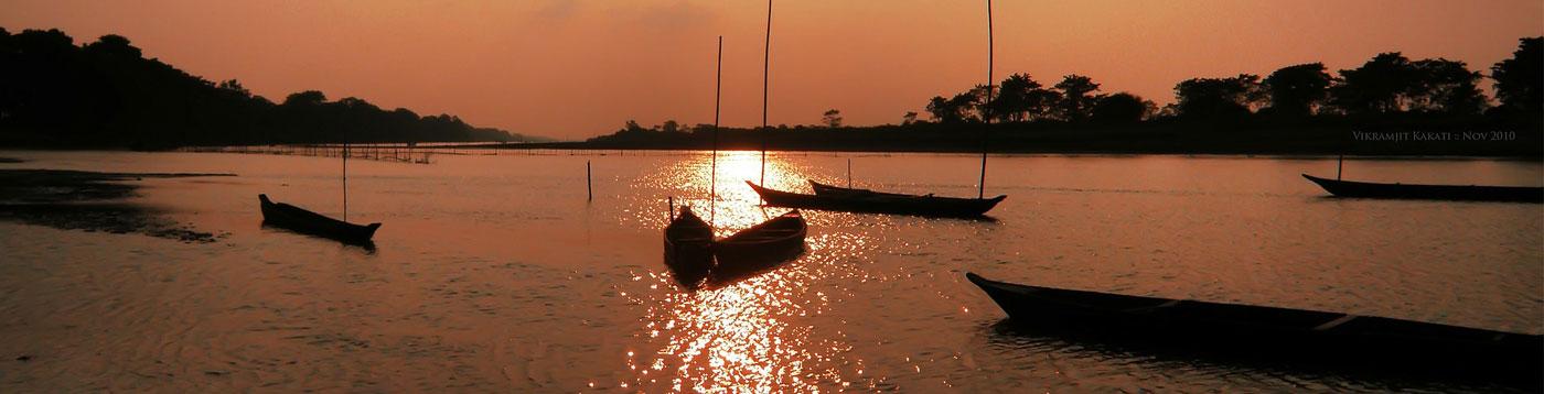 sun set Assam