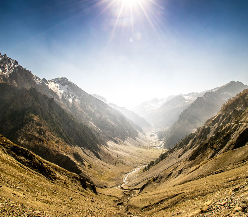 Mountains in Kashmir