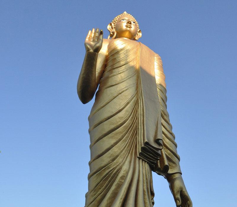 Loard buddha statue Bodhgaya
