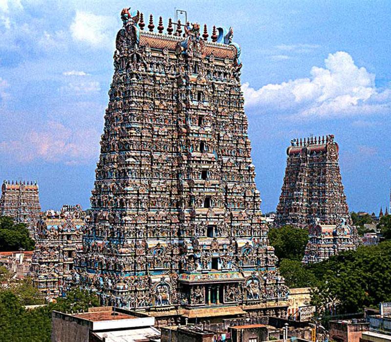Madurai Meenaksh Temple Tamilnadu
