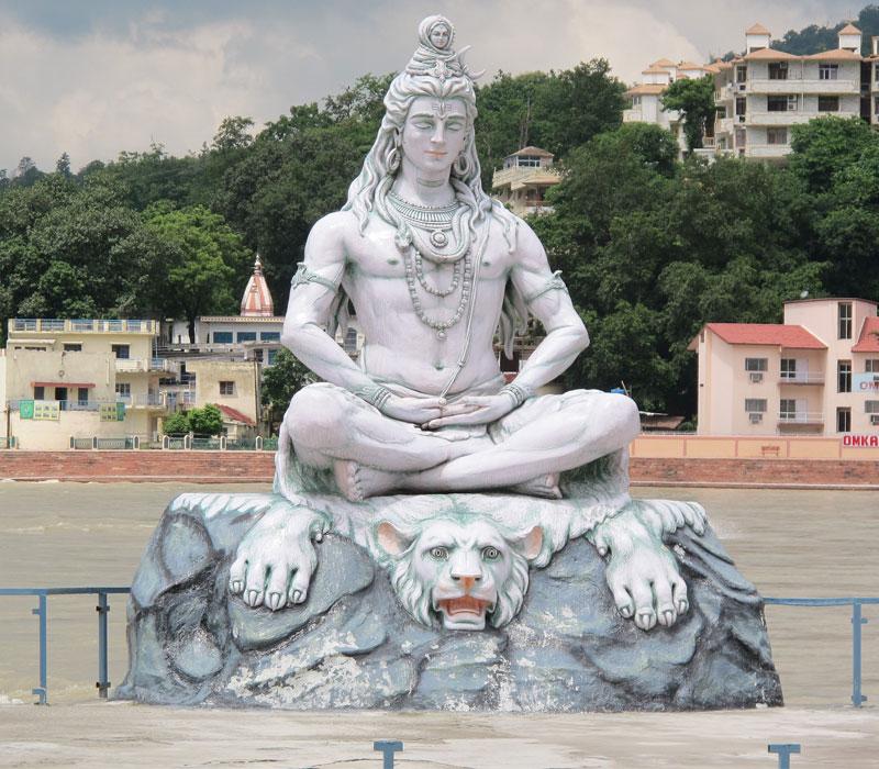 Shiva Statue at Ganges Rishikesh
