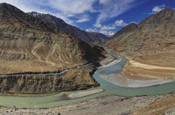 Ladakh Valley of flower