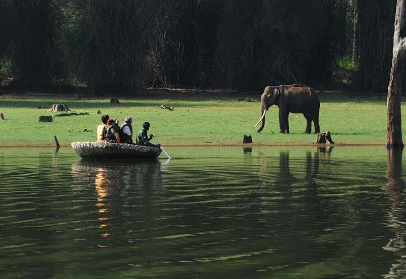 Coracle Ride at Kabini River Lodge