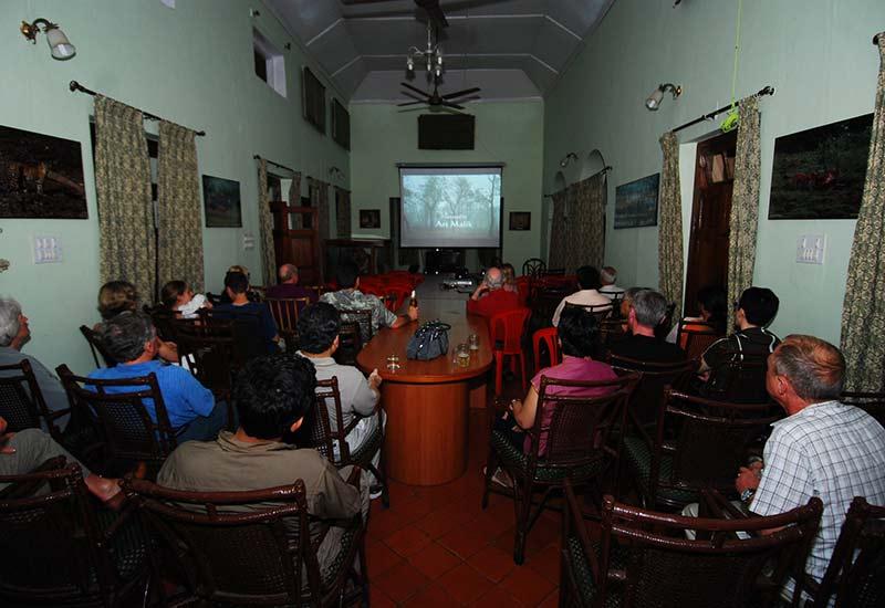 film watching at kabini