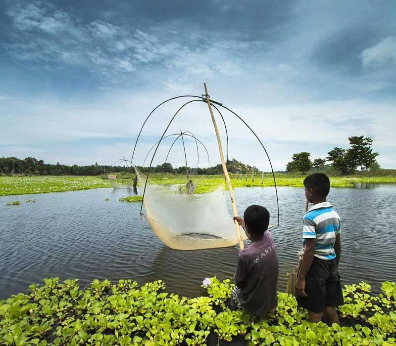 Fishing in Assam