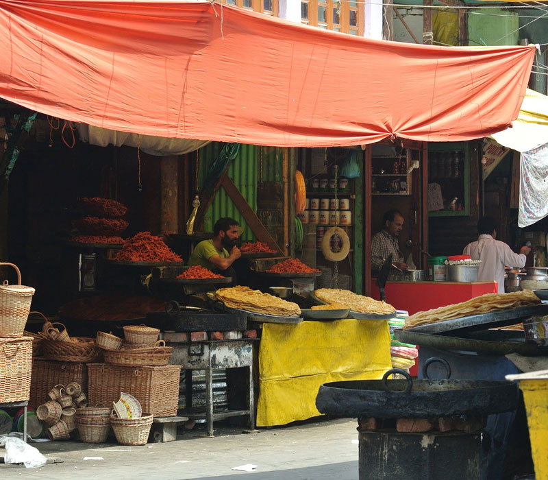 Local market Kashmir