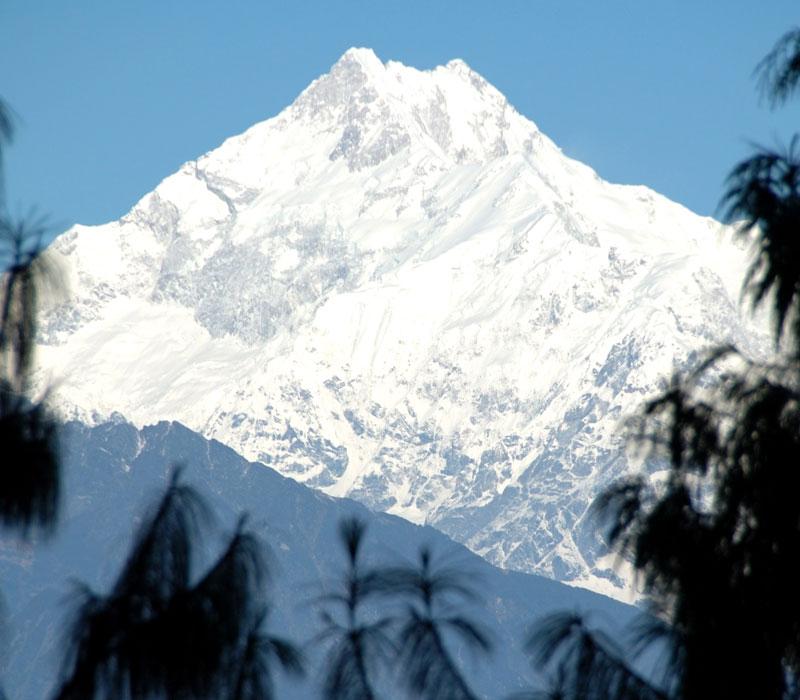 Mount Kanchenjunga Darjeeling