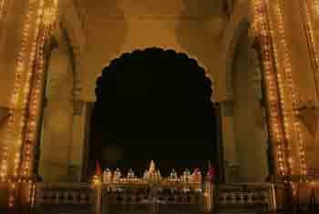 Mysore Palace Lighting