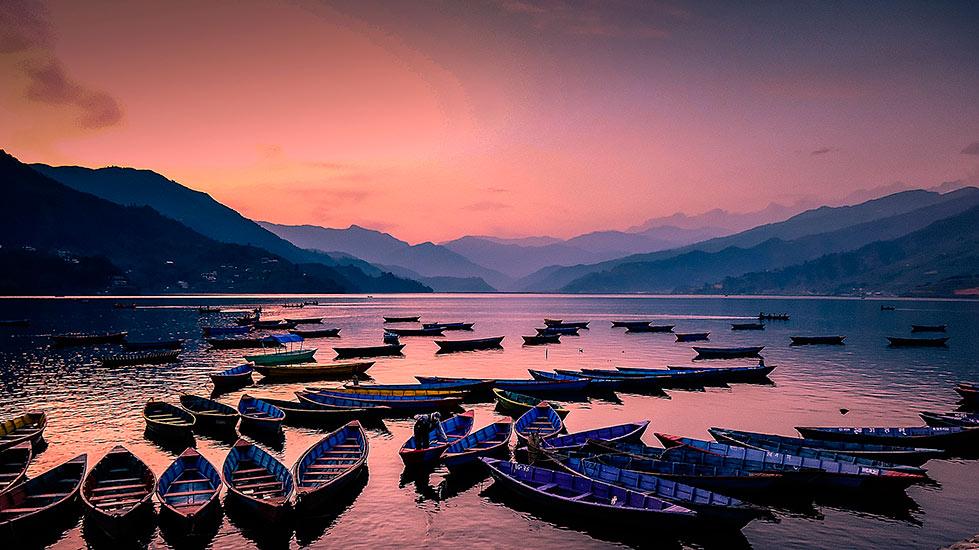 pokhara boats
