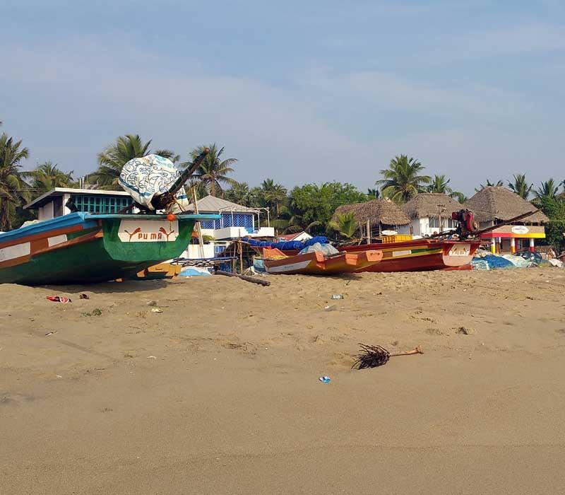 Fishng boats pondicherry