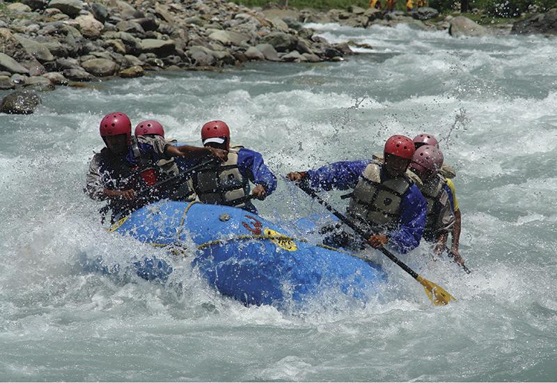 rever rafting